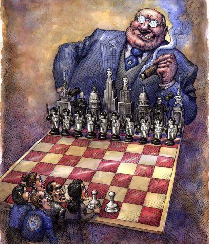 Capitalismo y tablero de ajedrez