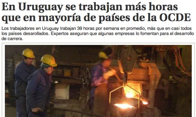 Uruguay trabajo OCDE