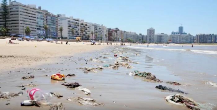playas contaminadas uruguay