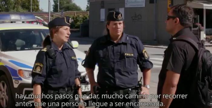 policía suecia