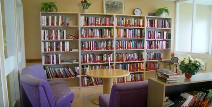 biblioteca cárcel suecia